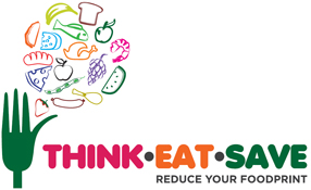 Logo thinkeatsave.org