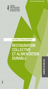 DE universitaire restauration durable CNAM Millau