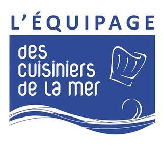 Logo équipage cuisiniers de la mer