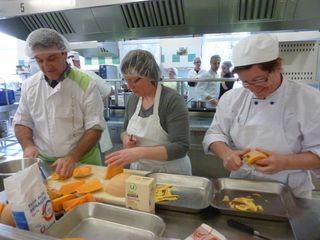 Atelier cuisine Les légumes de saison Réseau LOCAL Anjou