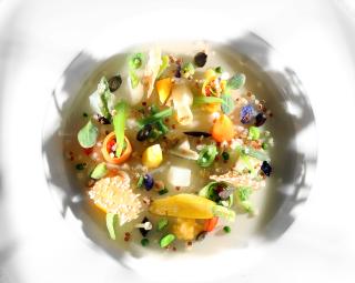 Assiette vegetal BOC