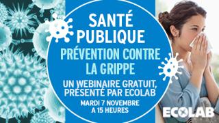 Ecolab grippe Webinar