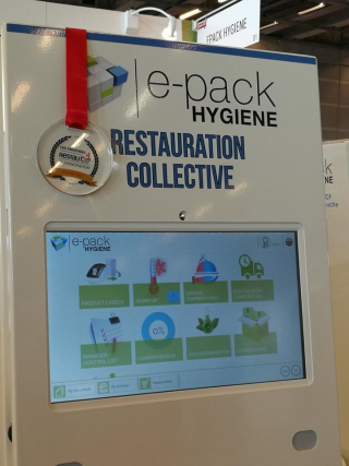 Trophée de Bronze Restau'Co avec la Solution ePack Hygiene