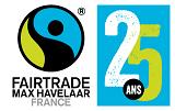 Logo MaxHavelaarFrance-25 ans