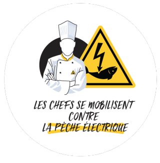 Logo Chefs  contre pêche électrique