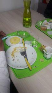 Plateau restauration scolaire